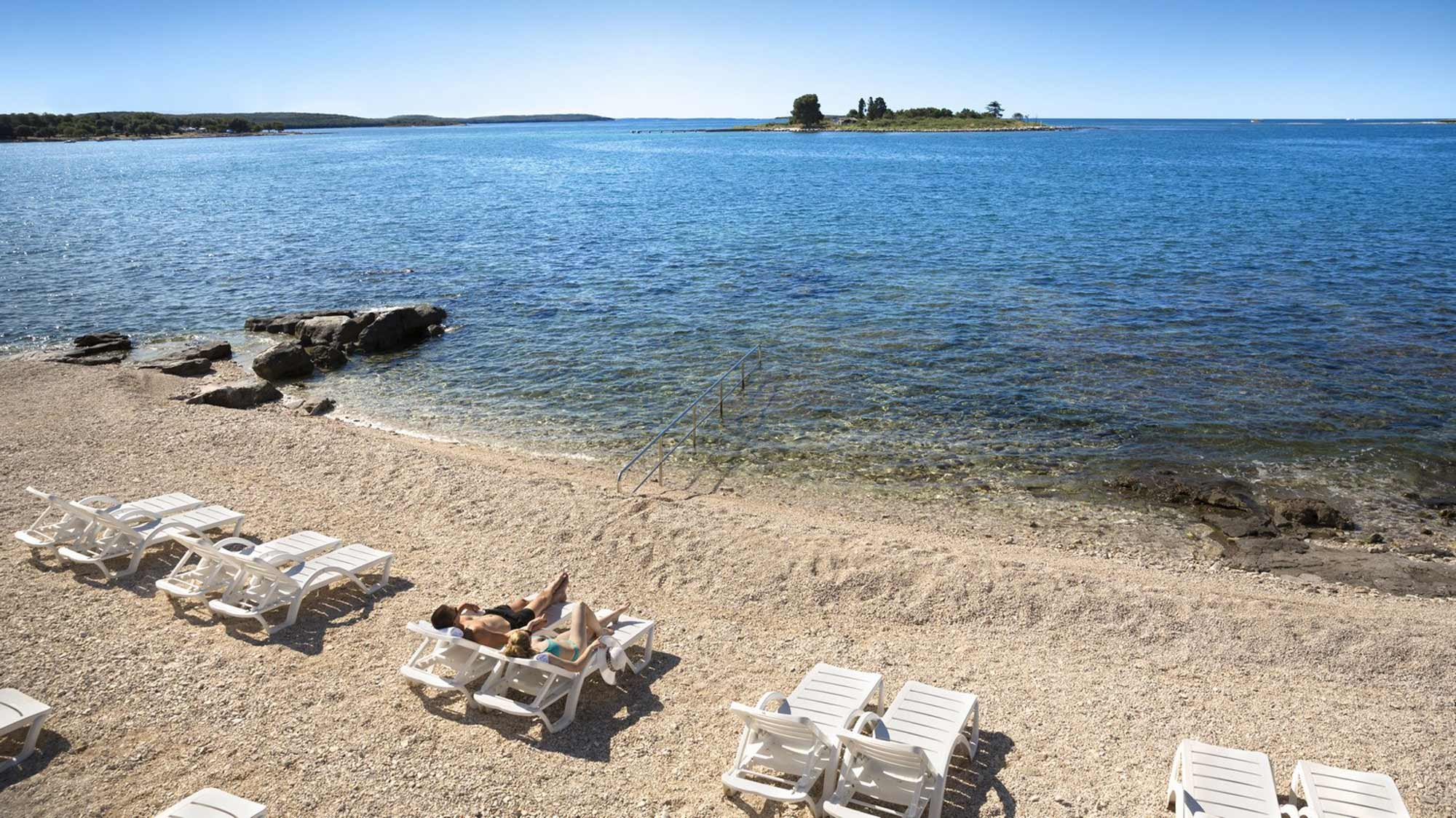 Strand rovinj fkk Freikörperkultur an